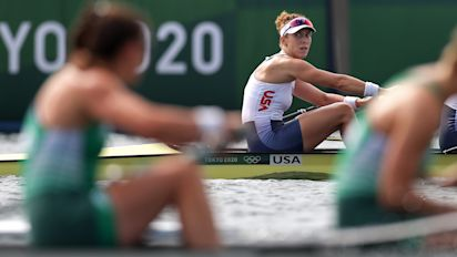 Rower on Russia's silver medal: 'Nasty feeling'