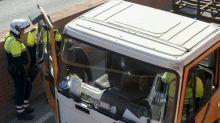 Swede detained after heist of gas-laden truck in Barcelona