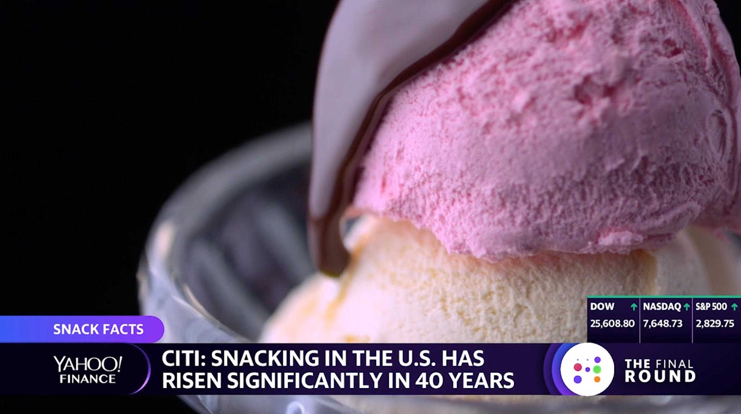 The global snack market is worth $605 billion