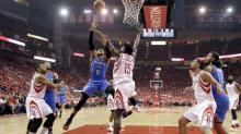 The Rockets advanced, but Russell Westbrook and the Thunder were the story once again