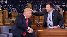 Here's How Jimmy Fallon Responded to President Trump's 'Be a Man' Insult