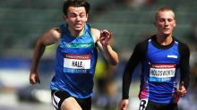 Jack Hale lights up the track with sizzling 100m time