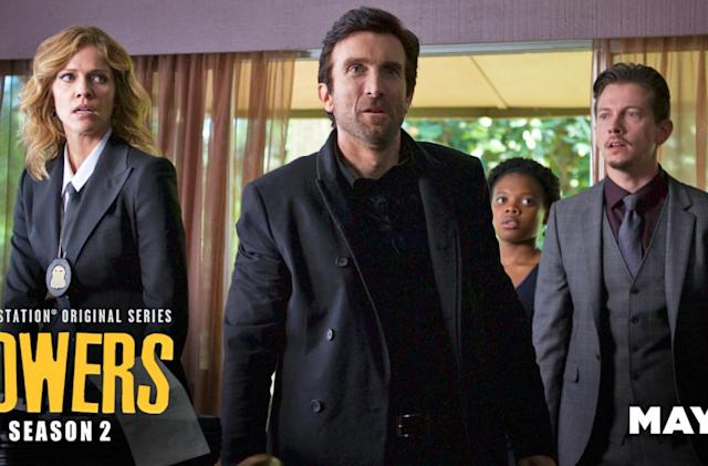 Sony's original TV show 'Powers' returns on May 31st