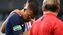 Injured Mbappe to miss PSG's Champions League quarter-final with Atalanta