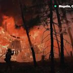 California Wildfire: Scenes Of Destruction