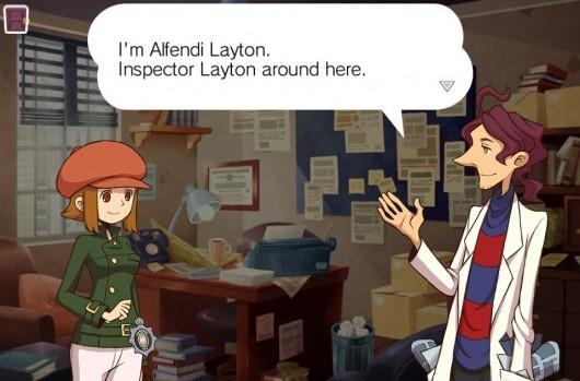 The 'Layton' is latent in Layton Brothers: Mystery Room