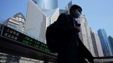 Asian shares on backfoot as focus shifts to U.S. stimulus, China tensions