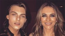 Liz Hurley, 52, slammed for 'inappropriate' plunging dress at son's 16th party
