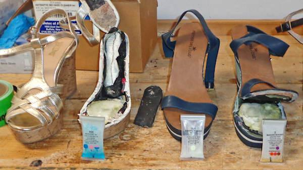 $140K of cocaine found in woman's shoes at Philadelphia Int'l Airport