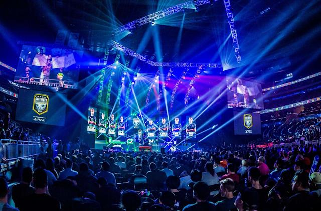 The first five 'Call of Duty' esports teams include New York and Paris