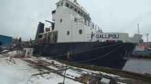 MV Gallipoli, plagued by controversy and delays, almost ready for the water