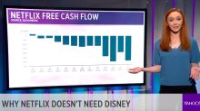 TODAY'S CHARTS: Why Netflix doesn't need Disney