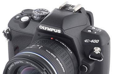 Olympus E-400 DSLR review roundup