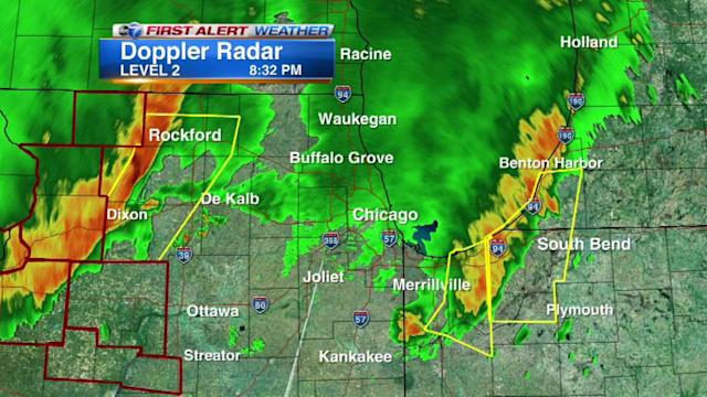 Tornado Warning in effect for Cook, Will until 10:30PM