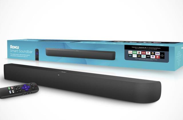 Roku's first soundbar doubles as a streaming box