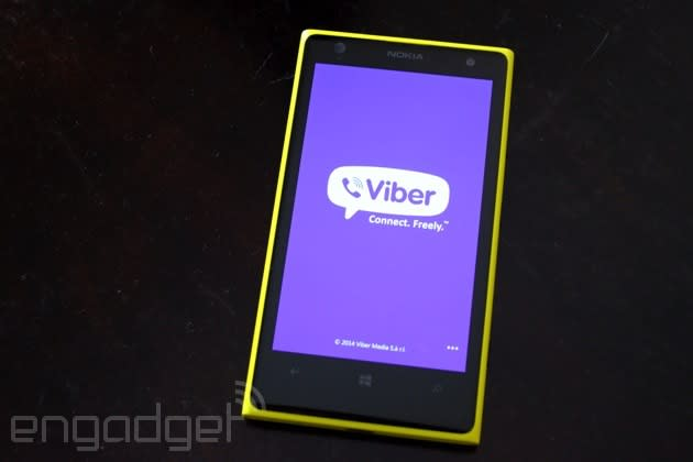 Viber's Snapchat-like voice feature comes to Windows Phone 8
