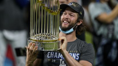 Finally! Kershaw gets long-awaited championship