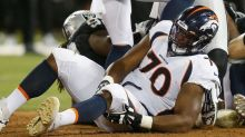 How will Broncos handle the Ja'Wuan James injury?