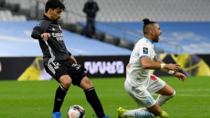 Paquetá é expulso, e Lyon fica no empate com o Marseille pelo Francês