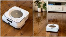 This robot will mop your floors for you