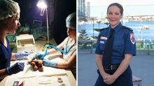 Mother's tragic story that inspired her to become a paramedic
