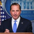 November target for COVID-19 vaccine unrelated to U.S. election, HHS Secretary Azar says