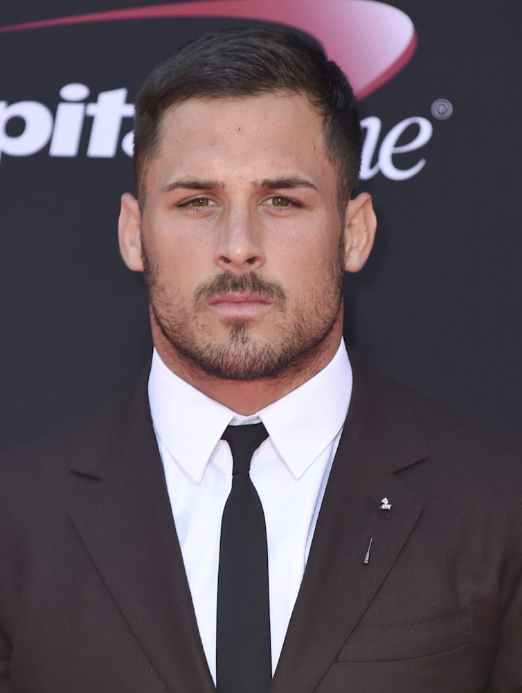 Patriot Blue Steel: Danny Amendola signed with Ford Models this week. (AP)