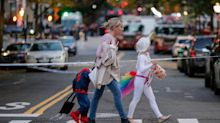 Undeterred By Deadly Attack, New Yorkers Celebrate Halloween In Style