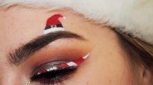 Sobrancelhas natalinas se tornam a nova mania de beleza neste fim de ano