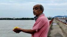Andhra Pradesh: Man jumps into Krishna river, case registered