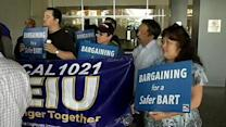 BART union workers vote to authorize a strike