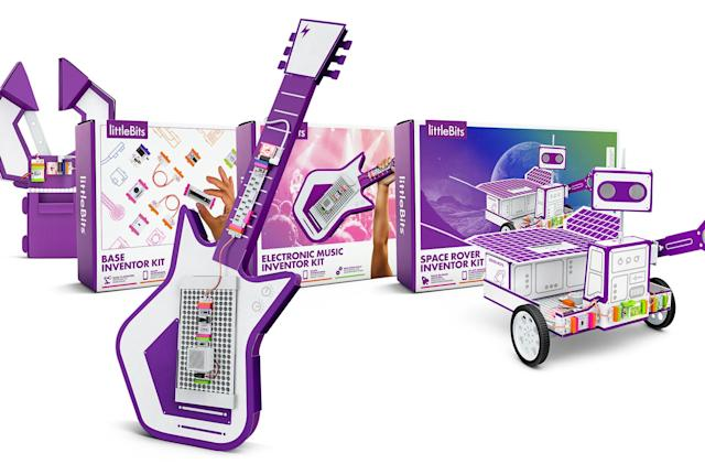 Littlebits' latest kits are inspired by modern inventors