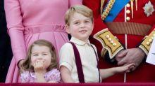 Prinz George und Prinzessin Charlotte: Auf der Ehrenparade der Queen stahlen sie allen die Show