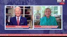 Hillary Clinton says Joe Biden should not concede on election night