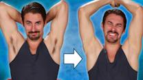 These Guys Shaved Their Armpits For The First Time And Hated It