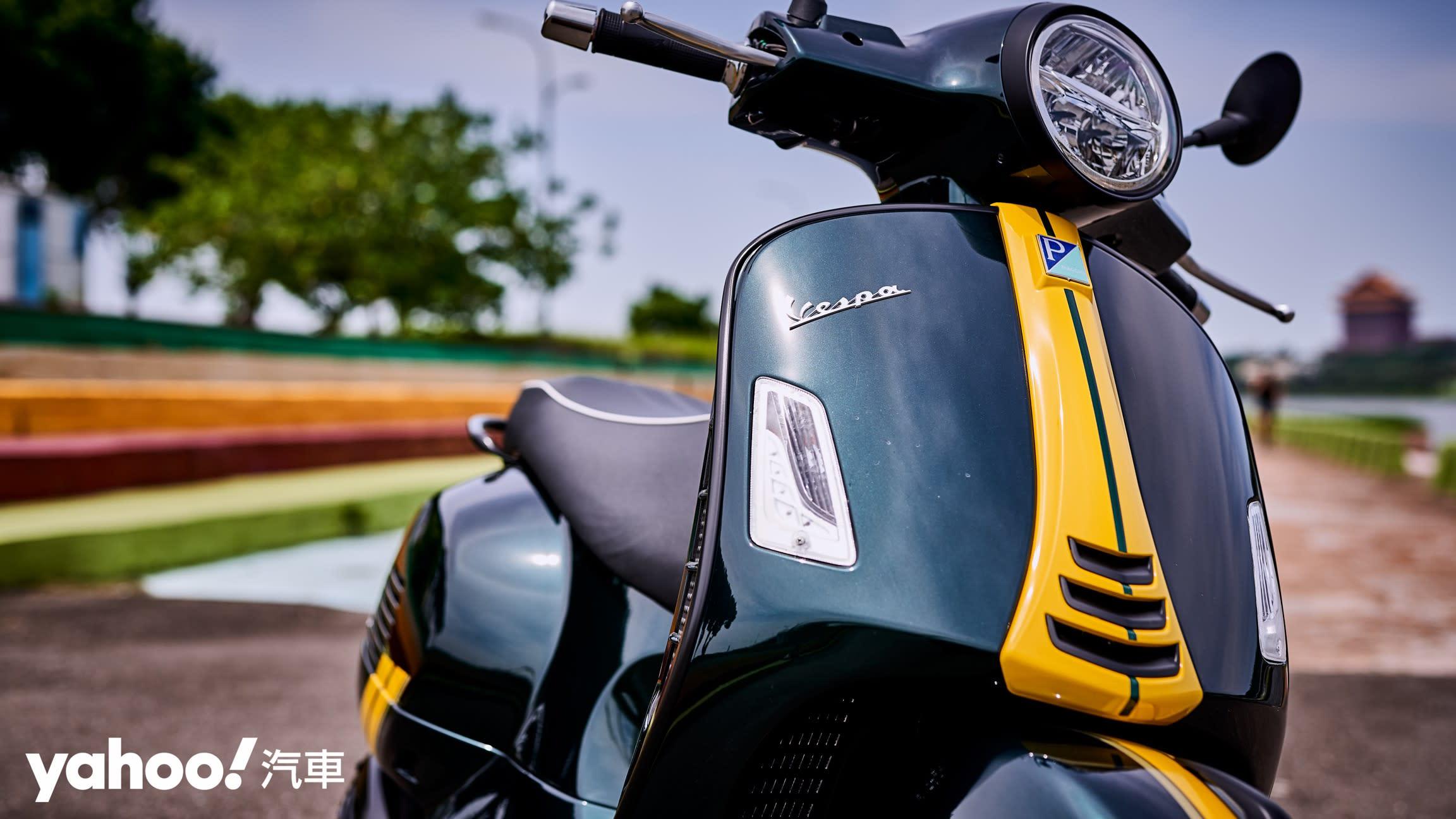 【新車圖輯】自由誠可貴的二輪時光機!2020 Vespa GTS 300 Racing Sixties城郊試駕!