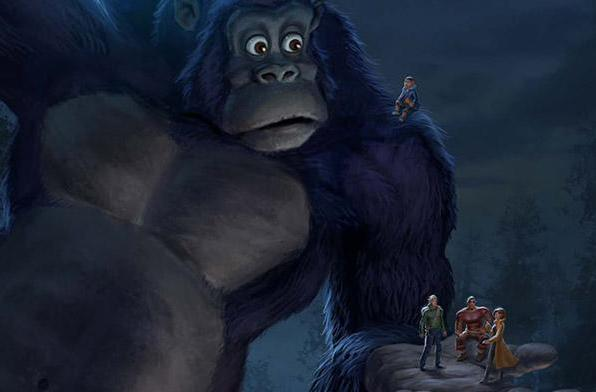 Netflix to launch a King Kong cartoon for kids in 2016