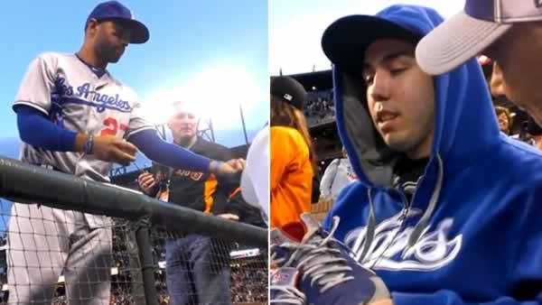 Dodgers fan still on Cloud 9 after meeting Matt Kemp
