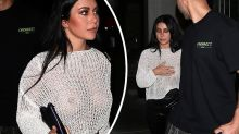MAFS' Martha goes braless in completely sheer top for dinner in LA