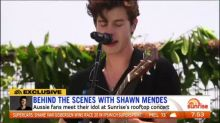 Behind the scenes with Shawn Mendes