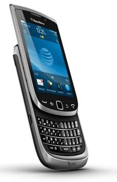 AT&T to launch BlackBerry Torch 9810 this month, Torch 9860 and Bold 9900 later this year