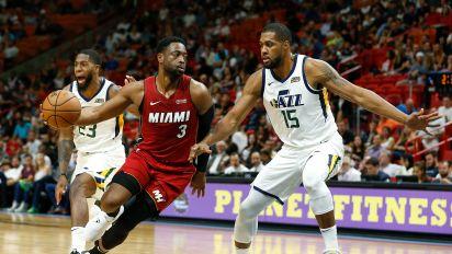 Wade joins ownership world, buys stake in Jazz