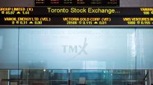 S&P/TSX composite up as price of gold tops US$1,800 an ounce, U.S. markets mixed
