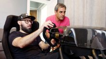 """Montoya becomes """"World's Fastest Delivery Driver"""" for $30k simulator prize"""
