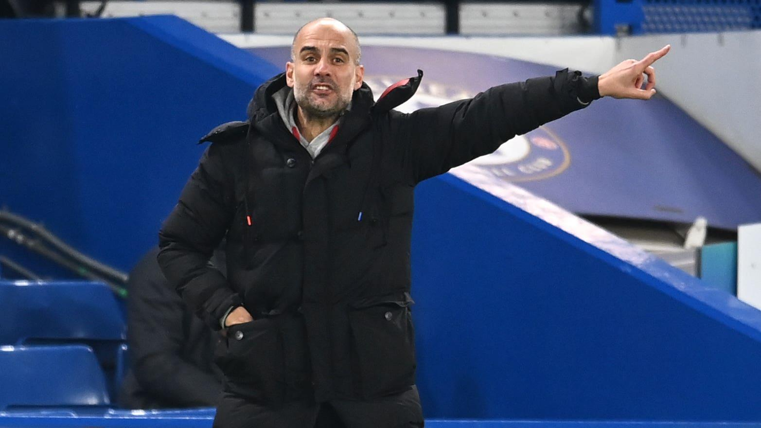 Unbeaten runs of no interest to Manchester City boss Pep Guardiola