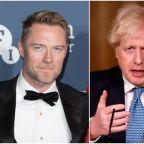 Ronan Keating asks Boris Johnson to meet him in a park to discuss 'unforgivable' rejection of EU touring visas