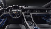 Inside the Porsche Taycan's minimalist, 911-inspired interior