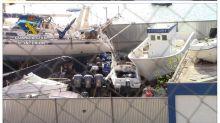 Cae en Melilla una red que abastecía de pateras para el tráfico de inmigrantes