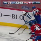 a Goal from Montreal Canadiens vs. Winnipeg Jets