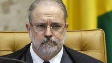 Aras se manifesta contra pedido de Bolsonaro para reverter decisão que derrubou perfis em redes sociais